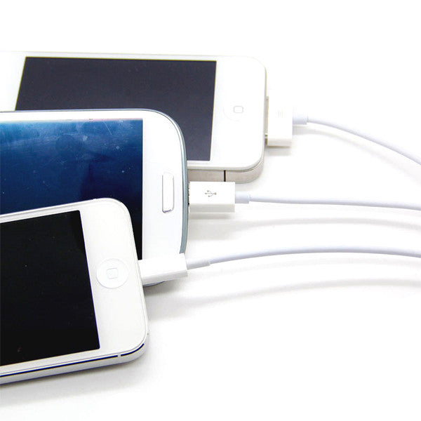 3 in 1 Cable for iPhone 4, iPhone 5 and Samsung