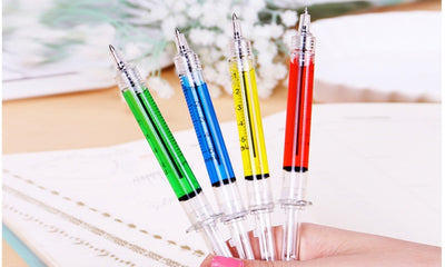 4-Pack Cute Syringe Style Colorful Pens