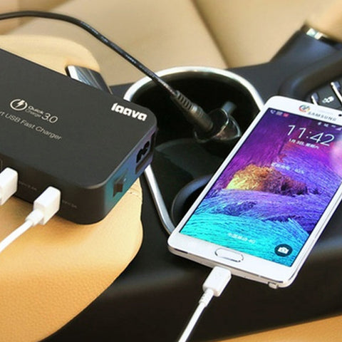 4-in-1 USB Fast Charger for Home and Car