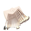 Luxury Champagne Gold Makeup Brushes Set - 24 pcs