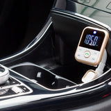 4 in 1 Car Entertainment Device: Charger, Hands Free, FM Transmitter & Music Player
