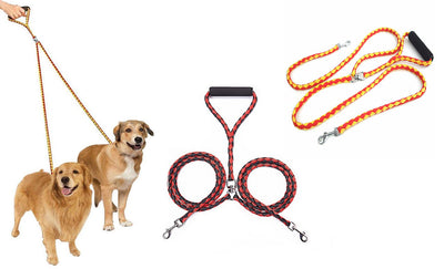 Dual Pet Leash (leash for 2 dogs with one handle.)