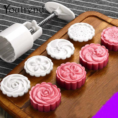 CREATIVE FLOWER CAKE STAMP