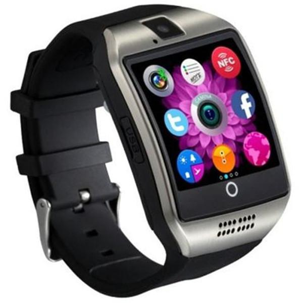 1.54 inch MTK6260 2.5D Screen Pedometer Sedentary Reminder NFC Smart Watch