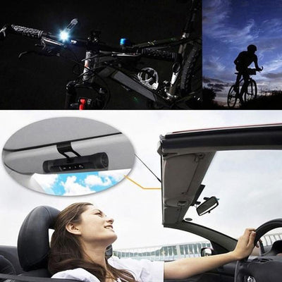 3 IN 1 Wireless Music Torch Flashlight And Bluetooth Bike Speaker