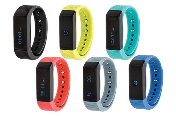 Waterproof Bluetooth Activity Tracker with Touchscreen