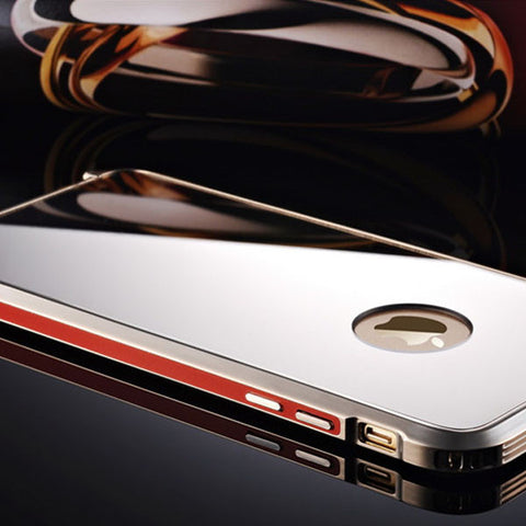 Aluminium Alloy Mirror Case for iPhone 6 & 6 Plus