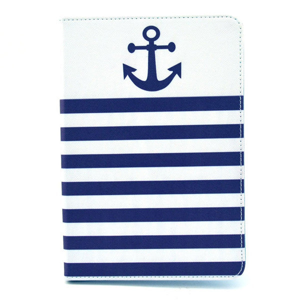 Anchor Leather Case for iPad