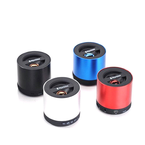Wireless Mini Bluetooth Metallic Speakers 3D Surround Subwoofer Stereo