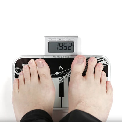 Body Fat And Weighing Scale