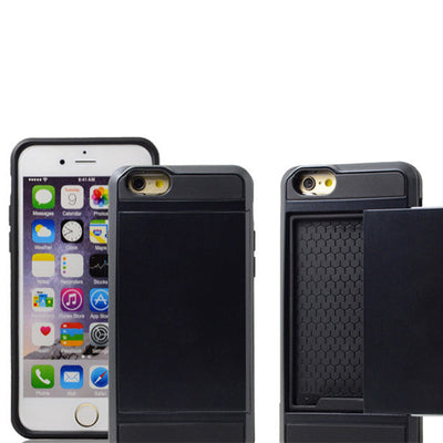 Card Storage Case For iPhone 6 / 6s / 7 / 6 Plus / 6s Plus / 7 Plus