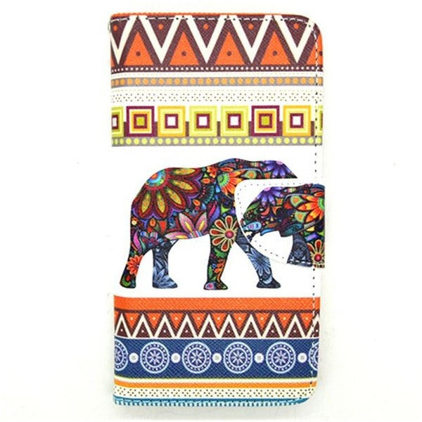 Cartoon Elephant Stand Case for Samsung Galaxy Note 4