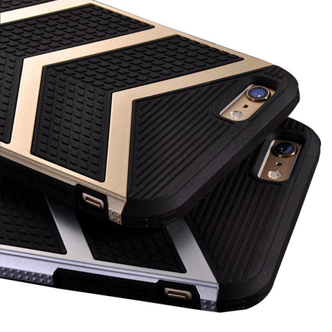 Chevron Print Luxury Case For iPhone 6/6s, 6 Plus, 7 & 7 plus