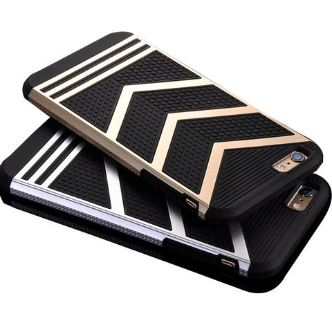 Shockproof Chevron Silicone Case For iPhone 6/6s, 6 Plus, 7 & 7 plus