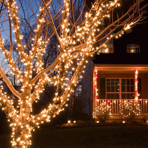 Christmas Lights - Solar LED String Lights - 17-Meters - 100 LED String Lights
