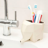 Elephant Shaped Cutlery And Toothbrush Holder And Drainer