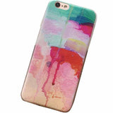 Graffiti Painting Soft Silicone Case for iPhone 6/6S/6+/6S+