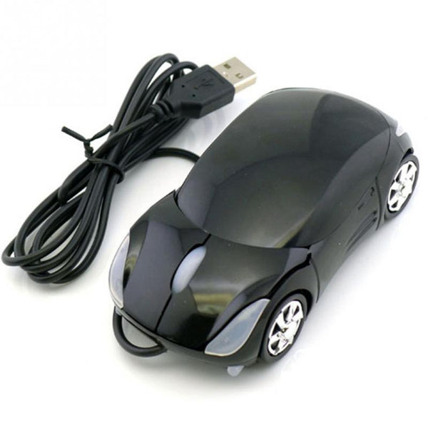 Super Stylish Car-Shaped 2.4 Ghz Wireless Optical Mouse With LED