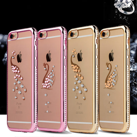 Rhinestone Back Design Case for iPhone 6/6s and 6 Plus/6s Plus