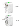 Universal Travel Adaptor Electric Plug Socket For US, UK, Europe And AU