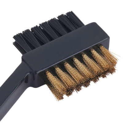 Dual Bristles Golf Club Brush Cleaner