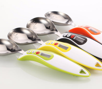Digital Kitchen Measuring Spoon with LCD Display Kitchen Scale