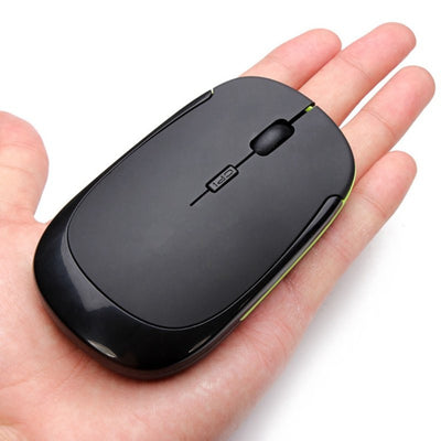 Ergonomical Wireless Ultra Slim 2.4 GHz Optical Mouse