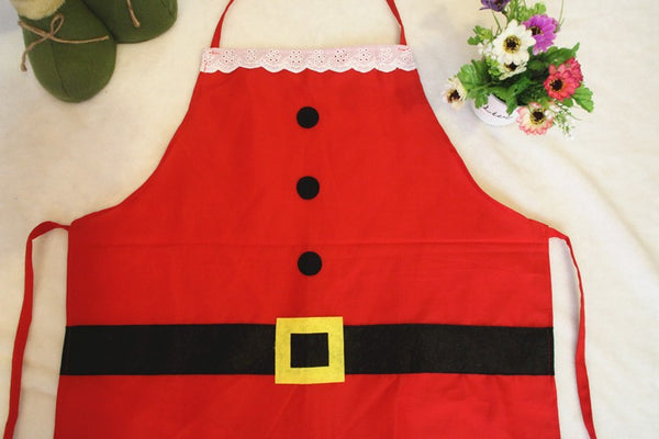 Christmas Themed Santa Claus Apron