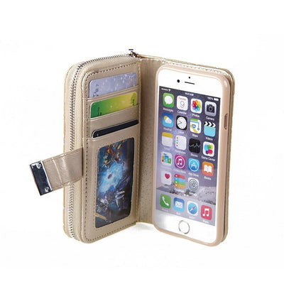 Detachable Magnetic Wallet Case For iPhone