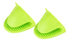 2-Pack Heatproof Silicone Multipurpose Pot Holders Oven Mitts