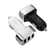 High-Speed 3-Port 5.1-Amp USB Car Charger