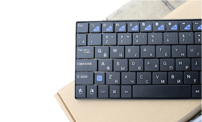 2.4GHz Ultra Slim QWERTY Wireless Keyboard with Touch Pad (US only)