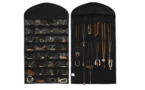 32-Pocket Hanging Jewelry Organizer