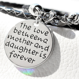 The Love Between A Mother And Daughter Is Forevr Braclet