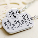 Daddy's Girl Necklace Set