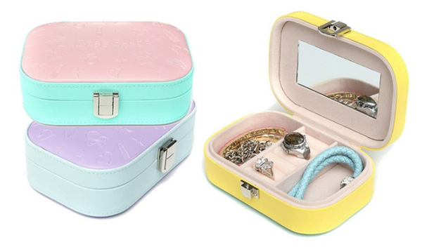 Portable Jewelry Display Box