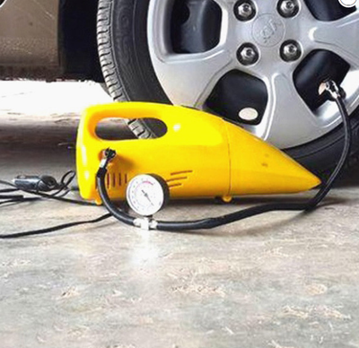 2-in-1 Tyre Inflator and Vacuum Cleaner