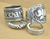 4 Piece Tibetan Elephant Ring Set