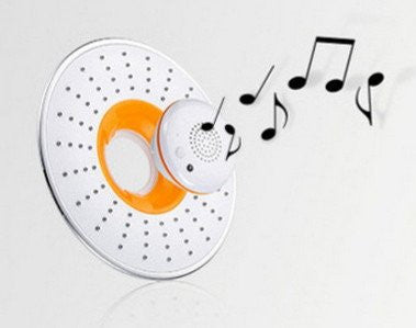 Bluetooth Shower Head Speaker, Music Playing And Automatic Phone Answering