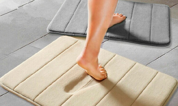 Foam Bath Mats (2-Pack)