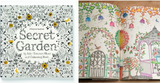 Adult Anti-Stress Secret Garden Coloring Book
