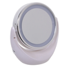 Double-Sided Magnifying LED Mirror