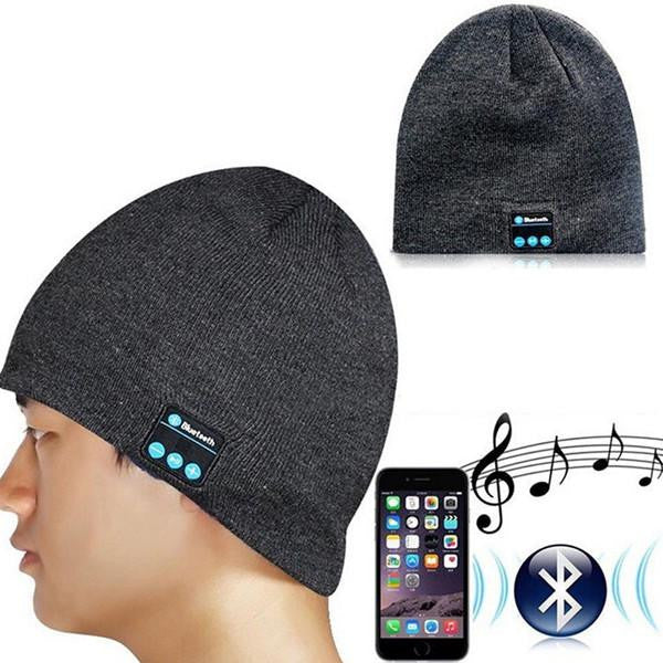5e1249ba098 Bluetooth Beanie - Warm Hat with In-built Bluetooth Speakers and Mic