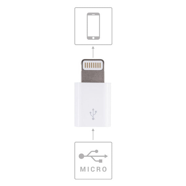 Lightning-to-MicroUSB Adapter