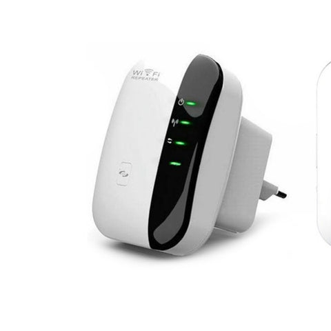 Wifi Range Extender & Wifi Repeater (300 Mbps) To Expand The Wifi Range