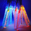 Multi-Colored Solar Bubble Stick String Lights