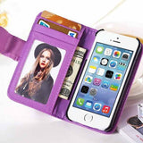 PU Wallet Leather Case for iPhone 6