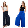 Lounge/ Palazzo pants for women: Blue/Gray/Navy