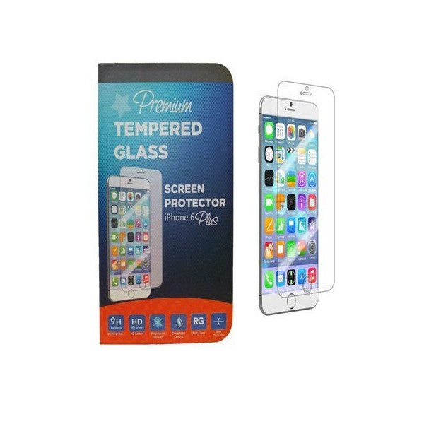 Premium Tempered Real Glass Anti- Scratch Screen Protector For iPhone 6 Plus