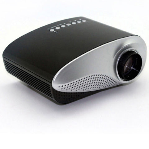 Sleek and Portable Mini Projector Home Theatre